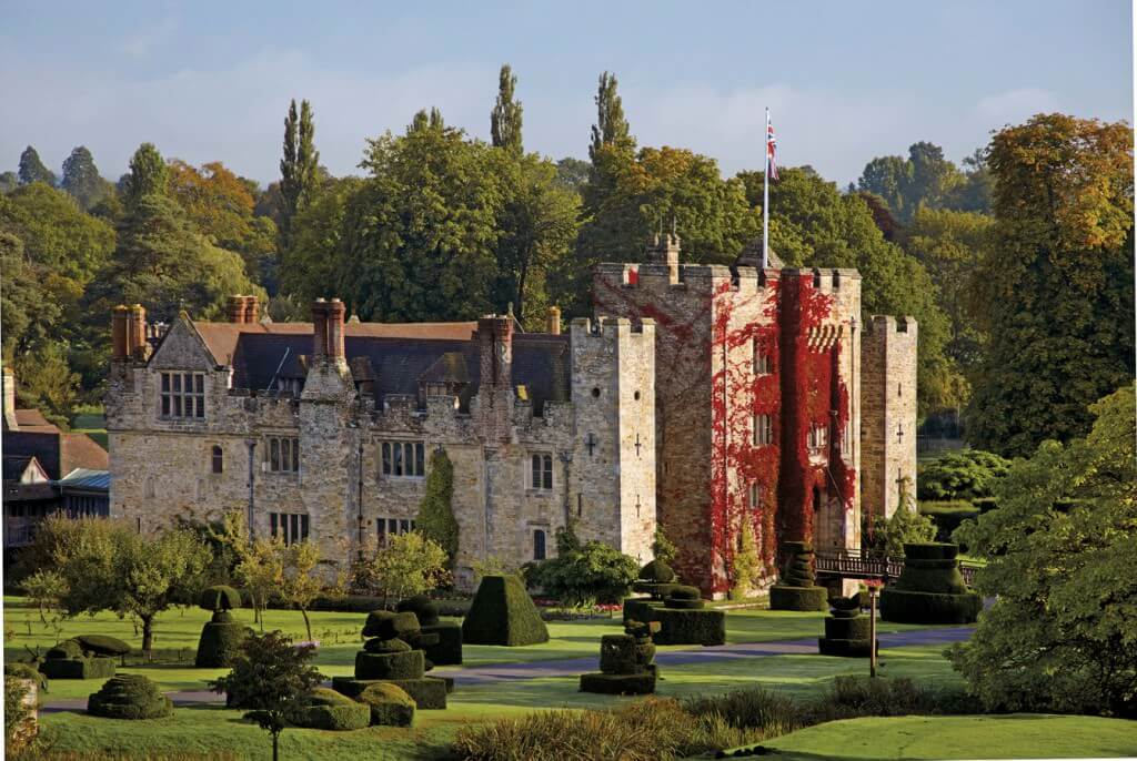 Hever Castle external view