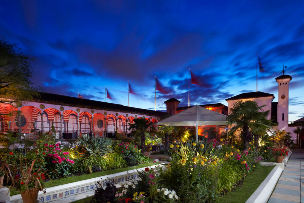 The Roof Gardens in Kensington