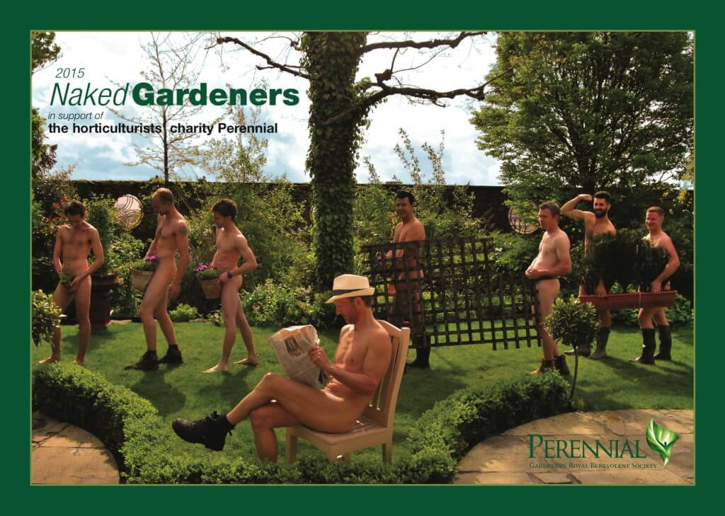 A Team Of Fundraisers From Across The UK Horticulture Industry Has Dared To  Bare All For A Naked Calendar To Raise Money For The Horticulturistsu0027  Charity, ...