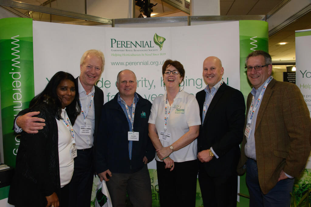 Kate O'Shea and Sunita Firell with Perennial supporters at Futurescape 2015