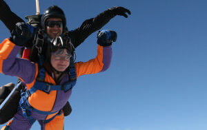 Will you dare to take on the thrill of a lifetime? Skydive for Perennial