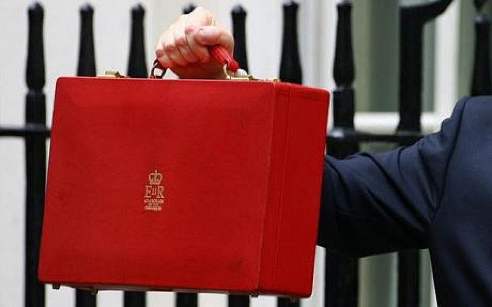 The briefcase used by the Chancellor of the Exchequer for the Budget