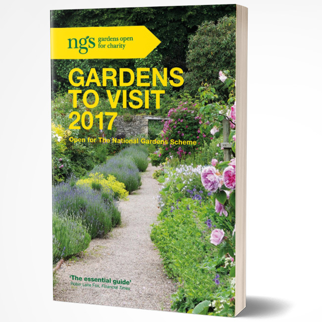 The NGS Gardens to Visit book, also known as The Yellow Book